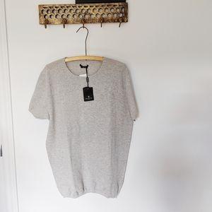 NWT | MASSIMO DUTTI knit shortsleeve shirt 🍁